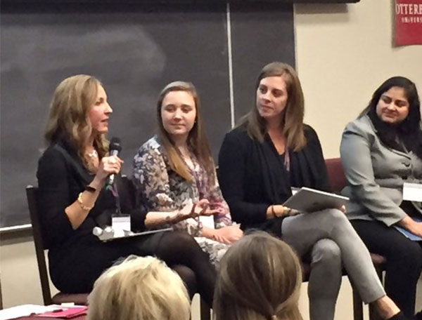 Cybervation and Cool Tech Girls founder and CEO, Purba Majumder, participated on the panel on STEM held by the Enterprising Women Foundation at Otterbein University on Jan. 20.